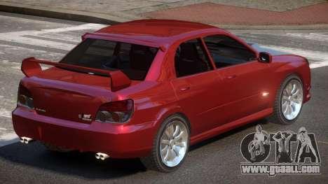 Subaru Impreza WRX S-Tuned for GTA 4