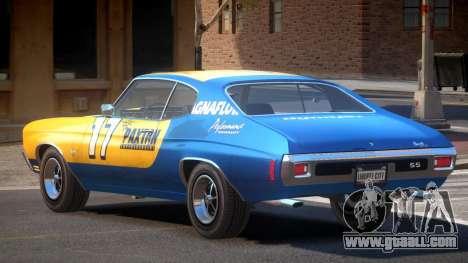 Chevrolet Chevelle 454 GT PJ1 for GTA 4