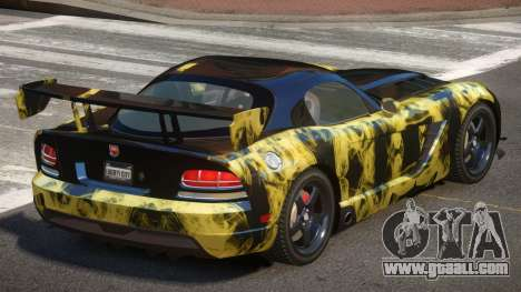 Dodge Viper SRT M-Sport PJ5 for GTA 4