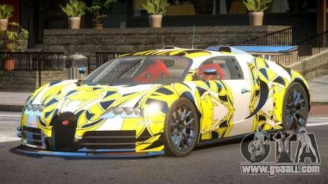 Bugatti Veyron SR 16.4 PJ1 for GTA 4