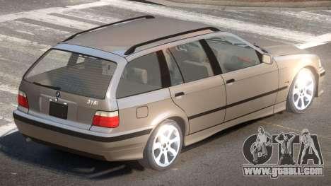 1999 BMW 318i E46 for GTA 4