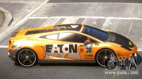 Lamborghini Gallardo LP560 MR PJ1 for GTA 4