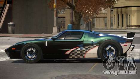 Ford GT1000 RS PJ4 for GTA 4