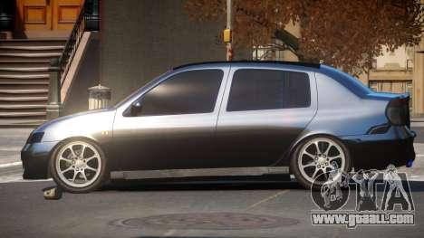 Renault Clio Custom for GTA 4