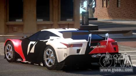 Lexus LFA R-Style PJ1 for GTA 4