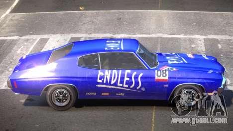 Chevrolet Chevelle 454 GT PJ6 for GTA 4