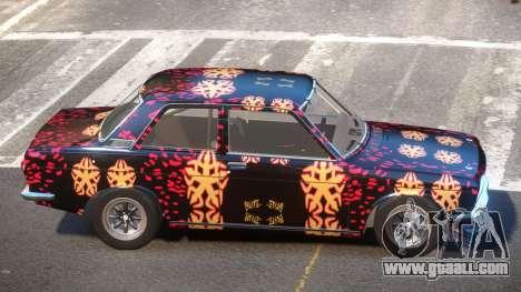 Datsun Bluebird L-Tuning PJ4 for GTA 4
