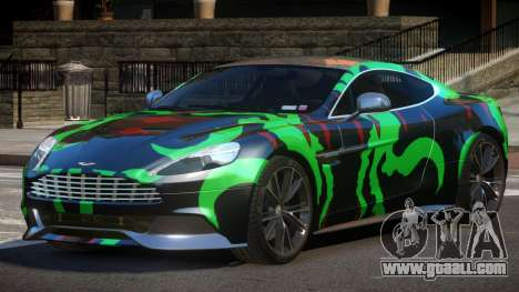 Aston Martin Vanquish LT PJ5 for GTA 4