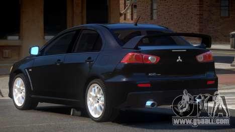Mitsubishi Lancer X MS for GTA 4