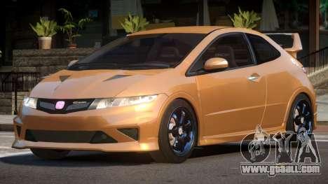 Honda Civic TR G-Tuned for GTA 4