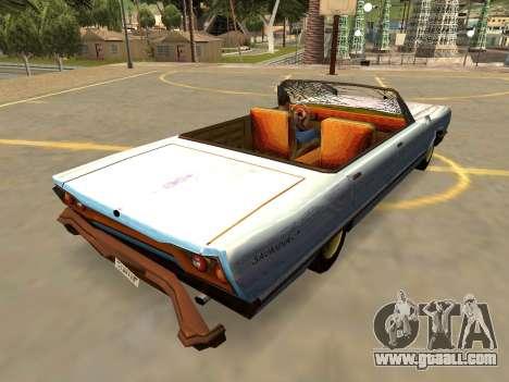 Declasse Savanna Rusty (IVF-Badges-Extras-PJ) for GTA San Andreas