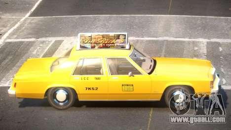 Ford LTD Crown Victoria Taxi V1.0 for GTA 4