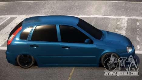 Lada Kalina 1119 LT for GTA 4