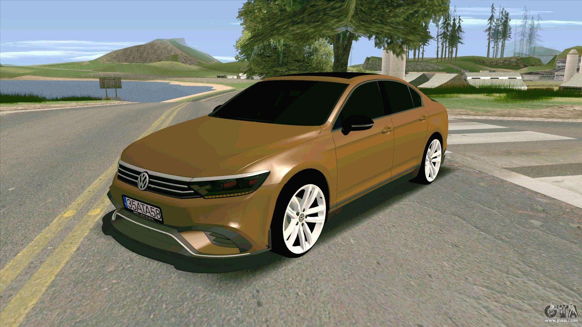 Volkswagen Passat B8 Turkiye For Gta San Andreas