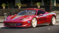 Ferrari 458 TR Police for GTA 4