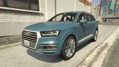 Audi Q7 Comfort Line version 1.1 for GTA 5