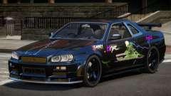 Nissan Skyline R34 SL PJ6 for GTA 4