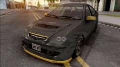 Proton Persona Black Yellow for GTA San Andreas