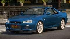 Nissan Skyline R34 MS for GTA 4