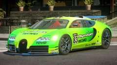 Bugatti Veyron SR 16.4 PJ4 for GTA 4