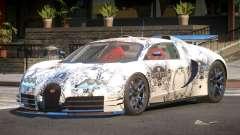 Bugatti Veyron SR 16.4 PJ5 for GTA 4