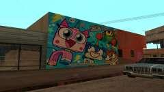 Unikitty Wall for GTA San Andreas