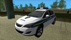 Croatian Police Opel Astra