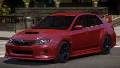 Subaru Impreza WRX SR for GTA 4