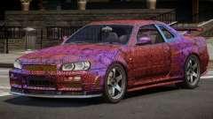 Nissan Skyline R34 SL PJ3 for GTA 4