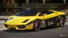 Lamborghini Gallardo LP560 MR PJ6 for GTA 4