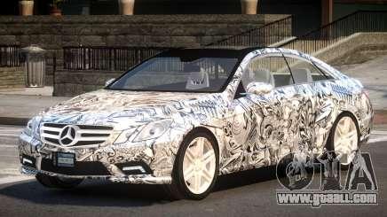 Mercedes Benz E500 LT PJ4 for GTA 4