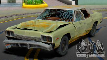 Dodge Monaco 1974 (Rusty) for GTA San Andreas