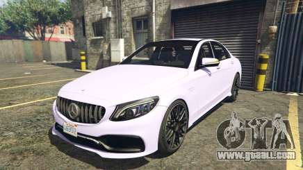 2020 Mercedes-AMG C63s AMG Replace 2.0 for GTA 5