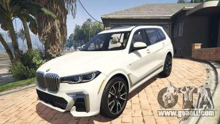 2020 BMW X7 Tuning v.1.0 [Add-On] for GTA 5