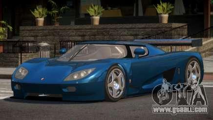 Koenigsegg CCGT TR for GTA 4