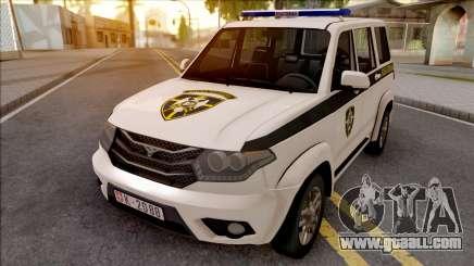 UAZ Patriot Serbian Military Police for GTA San Andreas