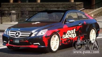 Mercedes Benz E500 LT PJ5 for GTA 4