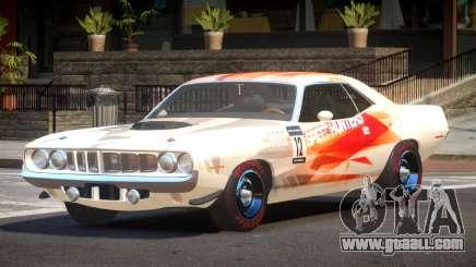 1969 Plymouth Cuda GT PJ2 for GTA 4
