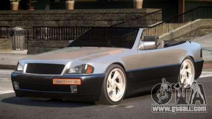 Mercedes Benz SL500 CMR for GTA 4