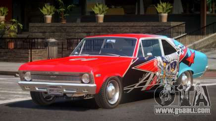 Chevrolet Nova RT PJ1 for GTA 4