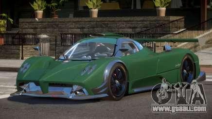 Pagani Zonda R G-Style for GTA 4
