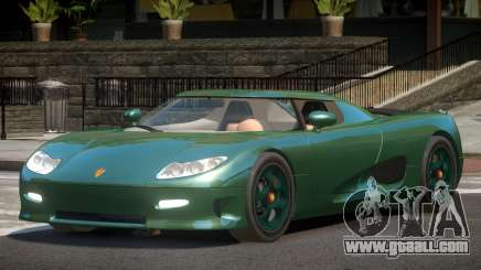 Koenigsegg CC8S ST for GTA 4