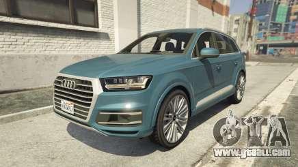 Audi Q7 Comfort Line version 1.1 for GTA 5