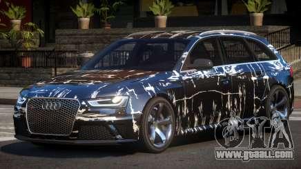 Audi RS4 GST PJ2 for GTA 4