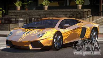 Lamborghini Aventador LP700-4 GS PJ1 for GTA 4