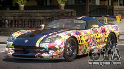 Dodge Viper SRT M-Sport PJ1 for GTA 4