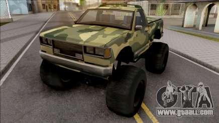 Monster B Camo Edition for GTA San Andreas