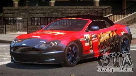 Aston Martin DBS Volante SR PJ1 for GTA 4
