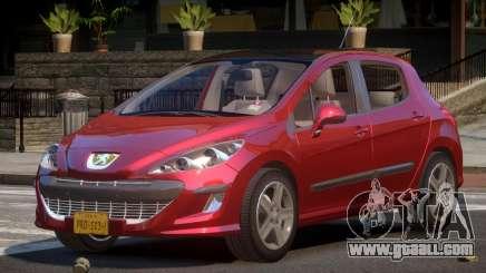 Peugeot 308 RT V1.2 for GTA 4