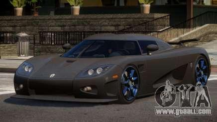 Koenigsegg CCXR R-Tuning for GTA 4